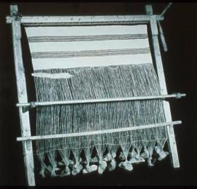 Sami warp-weighted loom