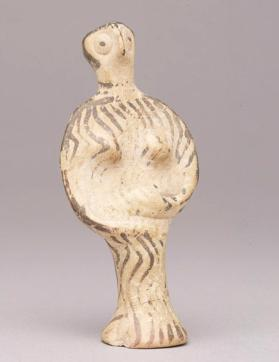 Phi type figure of a goddess or female worshipper