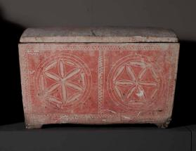 Ossuary with lid
