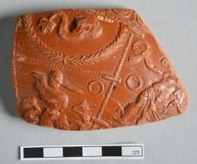 Fragment of a Samian ware bowl
