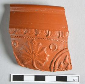 Fragement of a Samian ware bowl