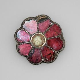 Brooch in the shape of a rosette