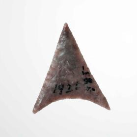 Barbed projectile point (arrowhead)