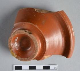 Samian ware cup fragment