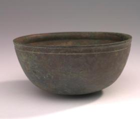 Hemispherical bowl